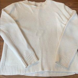 J. Crew heavy waffle knit sweater